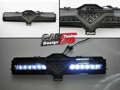 LED Rear Bumper Backup Brake Lamps Smoked FogLights Fits Scion FRS Subaru BRZ