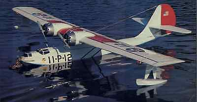 """Scale PBY-2 Catalina  67""""  Giant Scale RC Model AIrplane Printed Plans"""