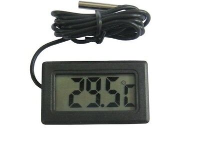 Mini Digital Fish Tank Thermometer Aquarium Test Water Temperature New
