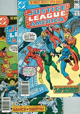 Justice League of America #180 and #181 VG