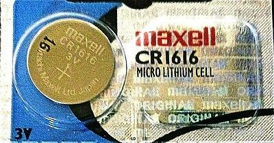 CR 1616 MAXELL LITHIUM BATTERIES (1 piece) 3V watch New Authorized Seller