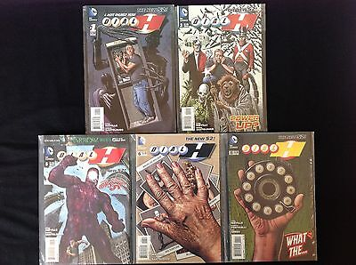 DIAL H Lot of 5 DC New 52 Comic Books - #1 2 5 6 & 11!