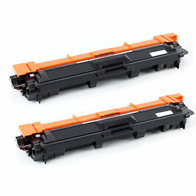 2PK TN-221 TN221 BK Toner Cartridge for Brother  MFC-9340CDW MFC-9130 HL3140