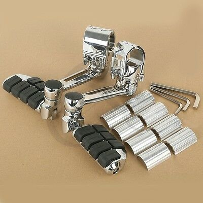 One pair Front Pegs FootPegs Footrest For Honda Goldwing GL1800 22mm 30mm 35mm