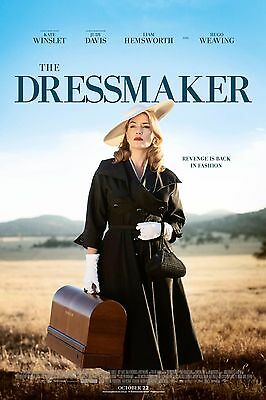 "The DRESSMAKER Poster Kate Winslet Movie Silk Posters Wall Decor 12x18"" TDM1"