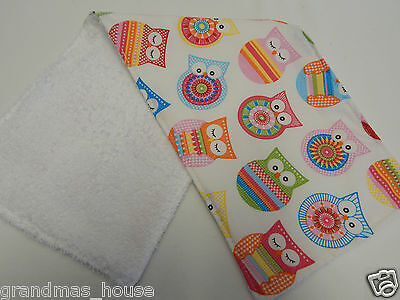 Sweet Dreams Dumbo White Burp Cloth 1 Only Toweling Back GREAT GIFT IDEA!!