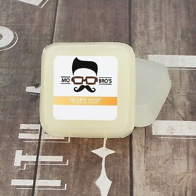 Mo Bro's - Vanilla & Mango Premium Beard & Skin Soap, Conditioner & Wash 80g