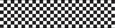 Checkerboard Border Stencil 22 inches long Free Shipping to the U.S.