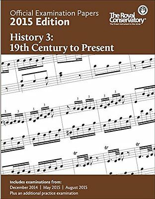 2015 RCM Exam Papers History 3 19th Century to Present