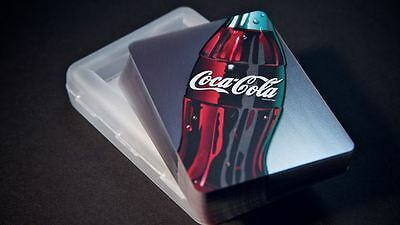 Coca-Cola Clear Bicycle Playing Cards Transparent Waterproof Poker
