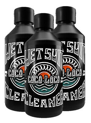 Coco Loco Eco Wetsuit Cleaner Shampoo With Eucalyptus Deodoriser 3 X 250ml