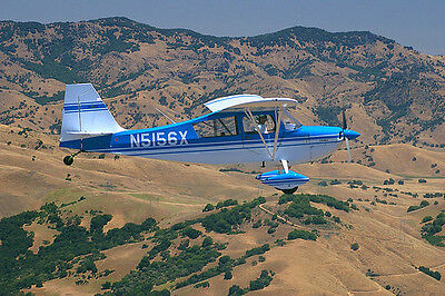 1/4 Scale Bud Nosen Citabria Giant Scale RC AIrplane Rolled Plans