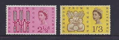 Great Britain 1963 Freedom from Hunger Stamp Set