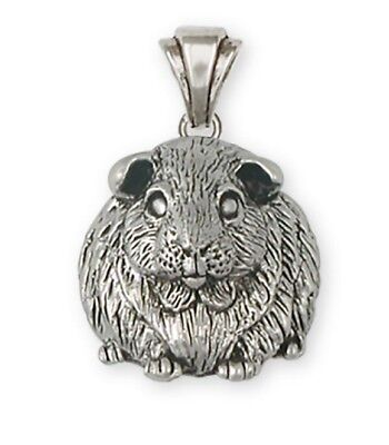 Solid Sterling Silver Guiinea Ping Pendant GP1-P