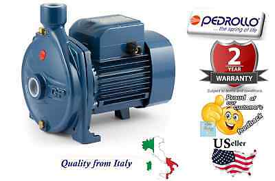 """Pedrollo Centrifugal Water Pump Industrial CPm600 0.5 HP 110V Made in Italy 1"""""""