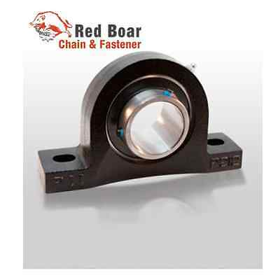 "1 1/2"" Pillow Block Bearings UCP208-24 (QTY 2) Quality Cast Iron Solid Base"