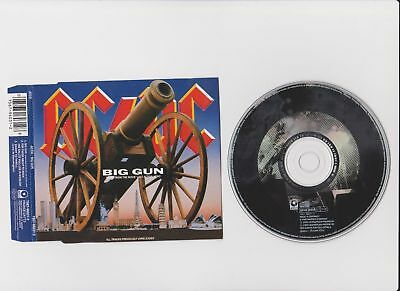 Ac/dc Ac Dc  -   Big Gun   Eu   3 Tr     Rare Cd Single    2 Live Tracks