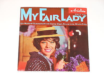 "Herta Staal - Bruce Low - Bruno Fritz - 7"" EP - My Fair Lady - Ariola 36 807 C"