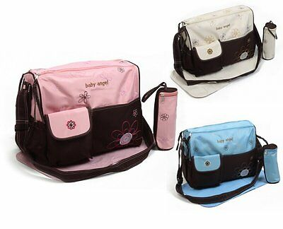 3PCs Baby Nappy Changing Bags Set Diaper Bag 3 Colours