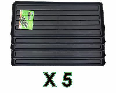 Black Grow Bag Tray X5