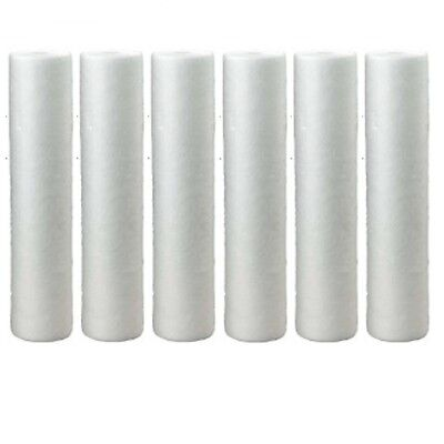 Hydronix 5 Micron SDC-45-2005 Whole House 20 x 4.5 Sediment Water Filter 6 Pack