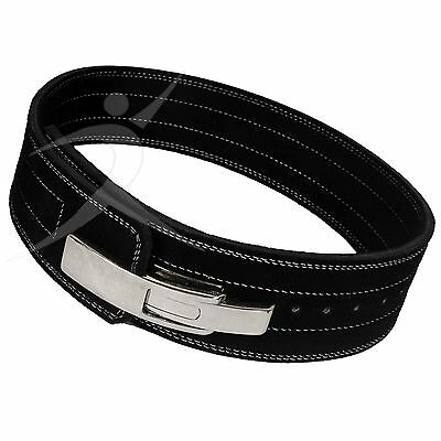 ARD CHAMPS™ Weight Power Lifting Leather Lever Pro Belt Gym Training Black