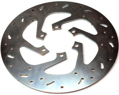Brake Disc For Zip Storm Cross Drilled Go Kart Karting Race Racing