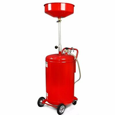 Portable 20 Gallon Waste Oil Drain Air Operated Drainer Drainage Lift Auto DIY