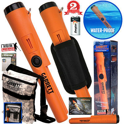 Garrett Propointer AT Waterproof Pinpointer Metal Detector +Holster +Digger Bag