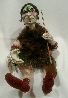 Rare Katherine's Collection Bobble Head Zombie Monster Cyclops Doll Halloween