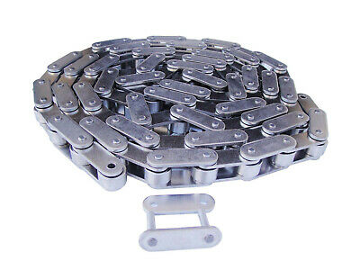 #C2052SS Stainless Steel Conveyor Roller Chain 10 Feet with Connecting Link