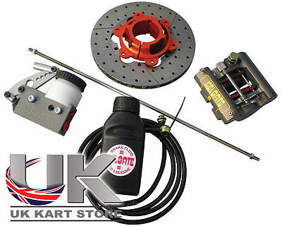 Kelgate 2 Pot Rear Caliper Brake System GTK with Soft Standard Pads Part 00-8080
