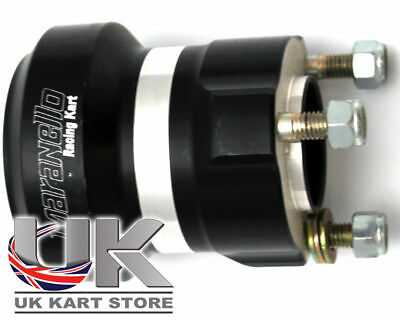 Black Maranello 50mm Rear Hub Medium UK KART STORE