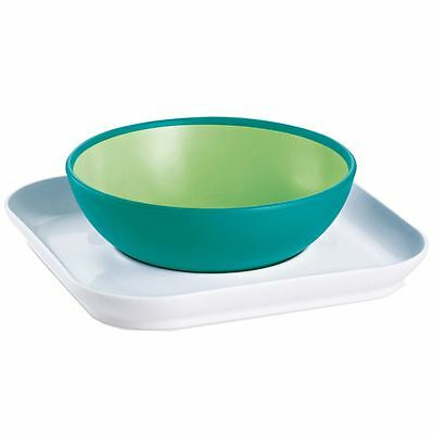 MAM Baby's Bowl and Plate - Green