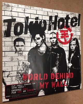 Tokio Hotel - WORLD BEHIND MY WALL - CDs CARDBOARD 2 TRAKs  - Sigillato MINT