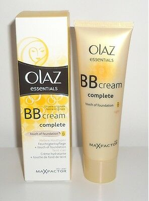 (100ml=15,80€) Olaz essentials BB cream complete touch of foundation 50ml
