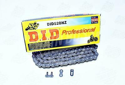 DID 520 x 114 Links NZ Series  Non Oring Natural Drive Chain