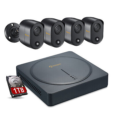 ZOSI 8CH 1080N 4in1 DVR 1TB HDD 720p Outdoor IR CCTV Home Security Camera System