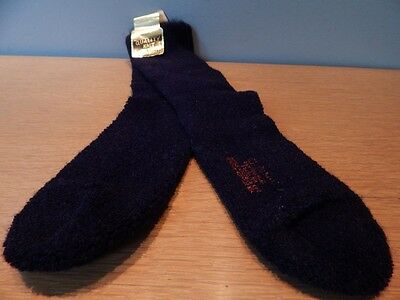 Nos 1960s Vintage Quality Knit Black Orlon Socks Hosiery Mod Bohemian Youth 10