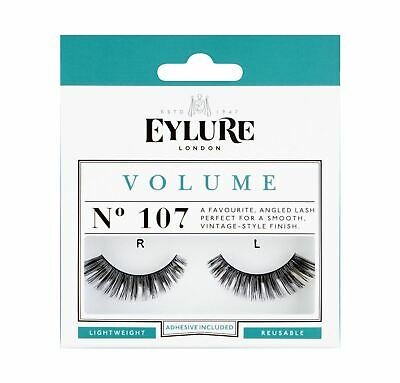 Eylure Volume No. 107 Lightweight   Reusable   Adhesive Included
