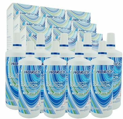 Horien All in One 10x360ml 10,78€/L NoRub Kombilösung Kontaktlinsen Pflegemittel