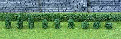 JTT Scenery Products O Gauge Pack of 15 Boxwood Plant (1.3cm - 4cm) # 95585