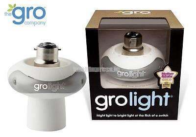 Gro-Light Gro Light 2 in 1 Night Light Bayonet Fitting nursery new