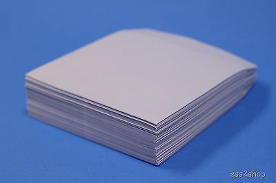 400 Generic Paper CD DVD R CDR Sleeve No Window Flap Envelope New