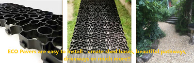 1 Paver For Shed Base Eco Plastic Paver For Shed Bases / Driveways / Pathways