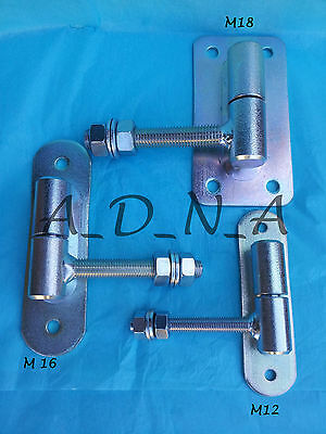 Heavy Duty / Adjustable Gate / Fence Hinge / High Quality / Galvanised Metal