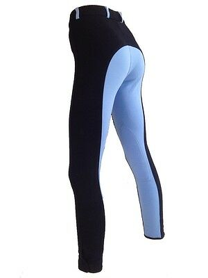 Girls Blue  Breeches Chuldrens Blue Riding Pants. Sizes 8,10,12 Sky Blue