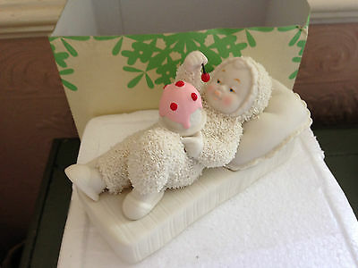 Snow Babies - With A Cherry On Top - 4036156 - New - Boxed