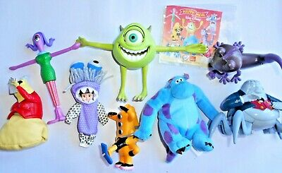 Mc Donald's Happy Meal - Monster & Co. Completa - 2002