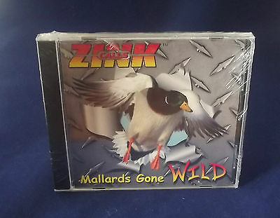 Zink Calls Duck and Goose Hunting CD Mallards Gone Wild/Duck Decoys